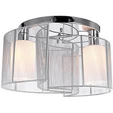 lightinthebox 2 light semi flush mount ceiling light fixture with