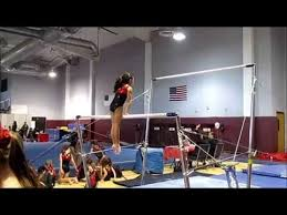 Usag Level 3 Floor Routine Tutorial by Mia The Gymnast New Usag Level 3 Bars Routine Youtube
