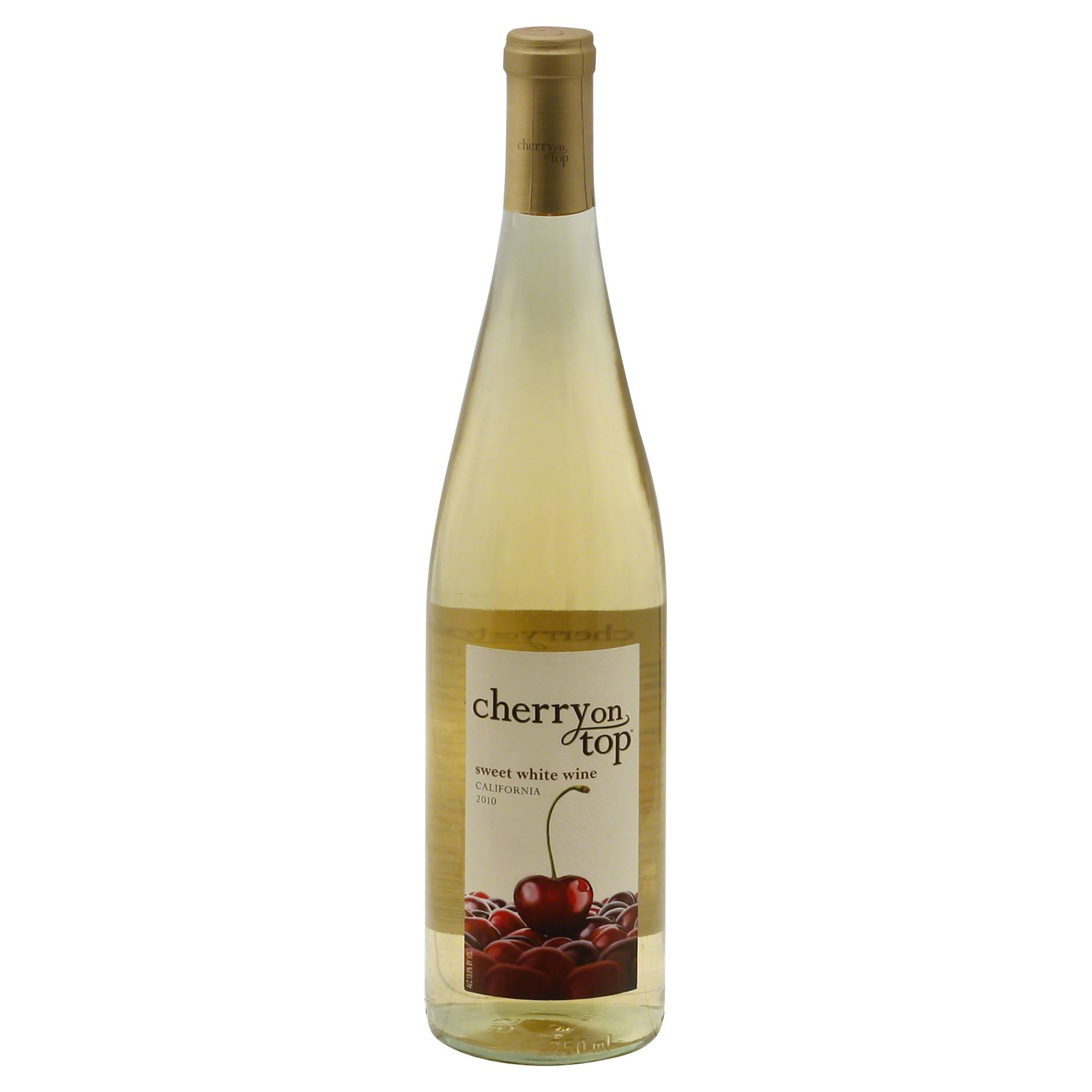 Cherry On Top Sweet White Wine, California, 2010 - 750 ml