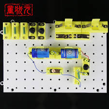junior high school students breadboard breadboard circuit physical
