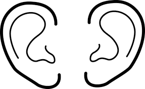 Elf Ears Template For Ear Coloring Page