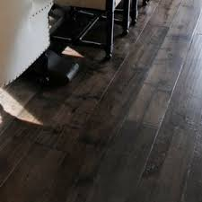 Dark Hardwood Floors For A Dramatic Home