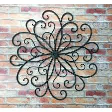 Spanish Iron Wall Decor Unique Metal Outdoor Decoration Ideas Inspiration