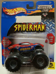 TAS032314) - Mattel Hot Wheels Monster Jam Spider-Man Die-Cast Car ... Hot Wheelsreg Monster Jamreg Mighty Minis Pack Assorted Target Wheels Jam Maximum Destruction Battle Trackset Shop Brick Wall Breakdown Fireflybuyscom Amazoncom 124 New Deco 1 Toys Games 164 Scale Vehicle Big W Higher Ecucation Walmartcom Grave Digger Buy Jurassic Attack Diecast Truck 2014 Rap Twin Toy Dragon 14 Edge Glow 2017 Case D Grana Team Lebdcom