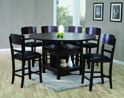 Conner 2849 Counter Height Table and 6 Stools