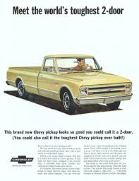 Chevrolet Trucks - Advertisement Gallery 1967 Chevy C10 Pickup Truck Hot Rod Network Wood Beds Bed Trucks Are You Fast And Furious Enough To Buy This 67 Silverado Pick Up Painted Fleece Blanket For Sale Chevrolet Youtube Ck Wikipedia Rare K10 4x4 Short Frame Off K20 4x4 Lane Classic Cars Rebuilt A To Celebrate 100 Years Of Truck Making 2015 Offers Custom Sport Package
