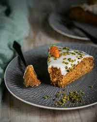 veganer möhrenkuchen ohne nüsse karottenkuchen einfach gebacken