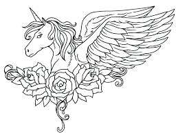 Unicorn Coloring Pictures Drawings To Color Pages Cute Colouring