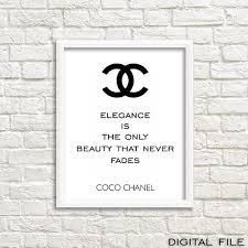 Tumblr Room Decor Tumbler Chanel Wall Art Coco Channel