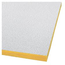 shop armstrong 48 x 24 white pebble ceiling tiles 16 at lowes