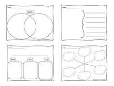 FREE EDITABLE Thinking Maps Downloads From The Kinder Cupboard
