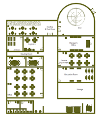 Floor Plan Template Powerpoint by Office Building Plan Examples And Templates