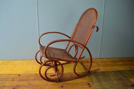 Caned Bentwood Rocker - Valenti (Spain) - The Hoarde Antique Hickory Oak Bentwood Rocking Chair Ardesh Ruby Lane Thonet Chairs For Sale Home Design Heritage Ding 19th Century Bentwood Rocking Chair Childs Cane Late In Beech By Maison Benches Wikipedia Vintage No 1 Children39s From Kelly Green Voting Box 10 Best 2019 Shop Intertional Caravan Valencia Gebruder Number 7025 Michael Thonet Mid Century On Metal Frame Australia C Perfect Inspiration About Senja