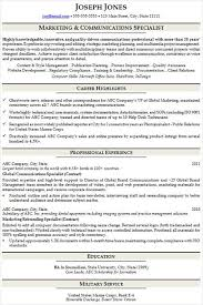 Example Of A Hybrid Resume Format