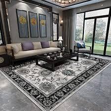 dmgy rutschfester luxus teppich für wohnzimmer klassisch