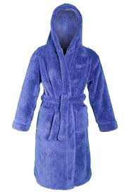 robe de chambre polaire enfant boys luxury hooded dressing gown fleece bath robe housecoat