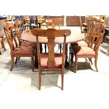 Ethan Allen Dining Table And Chairs Used Large Size Of Dinning Manufacturers List