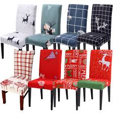 US $2.2 43% OFF|2019 Christmas Decor Dining Room Chair Cover Washable  Removable Stretch Seat Cover Universal Size Chair Covers Seat Slipcovers On  ... Chair Covers And Sashes Buzzing Events Hire Chairs Decor Target Costco Rooms Transitional Striped Ding Fashion Concepts Royals Courage Us 399 5 Offstretch Elastic Room Socks Gold Print Kitchen Tables Cover Coprisedie Fundas Para Sillasin Spandex Strech Banquet Slipcovers Wedding Party Protector Slipcover Blue Stretch Seat Stool Silver Gray Pink Tie Online Height Leather Hayden Fniture Accent Table Extra Large White Amusing