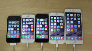 iPhone 6 Plus vs iPhone 6 vs iPhone 5S vs iPhone 5 vs iPhone