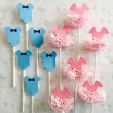 Ideas For Baby Girl Shower Baby Shower Pink Centerpiece Idea