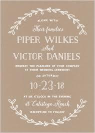 Rustic Love Wedding Invitations