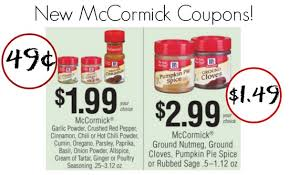 Mccormick Pumpkin Pie Spice In Coffee by Mccormick Coupon I Heart Publix