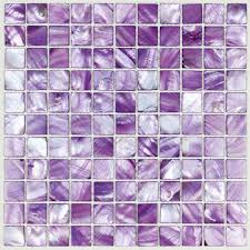 shell tiles 100 purple seashell mosaic of pearl tiles