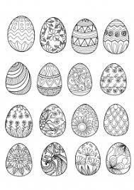 Coloring Adult Easter Eggs By Bimdeedee