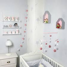 etagere chambre enfants etagère maison en bois recouvert de tissu imprimé pour