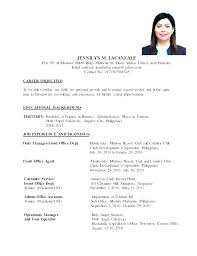 Resume To Apply Job Examples Of Resumes For Jobs Astonishing