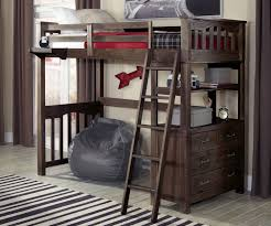 wood full size loft beds for kids ideas full size loft beds for