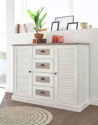 sideboard kommode colorado 130cm pinie weiß eiche antik wohnzimmer