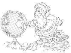 Printable Coloring Pages Christmas Around The World