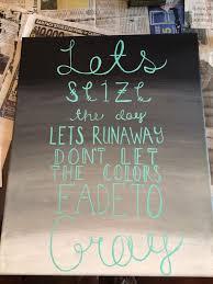 5sos Lyrics On Canvas Never Be Made By Destinyrgarza And Haleywisdom