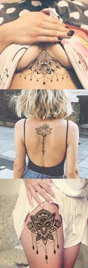 Lotus Tattoo Ideas For Women