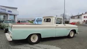 1960 Chevrolet Apache C-20 V8 Longbed Pick-Up Fleetside ---- Video I ...