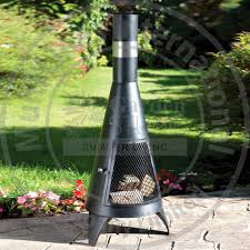 GardenMaxX Tacora XL Outdoor Fireplace In 2 Colours Costco UK