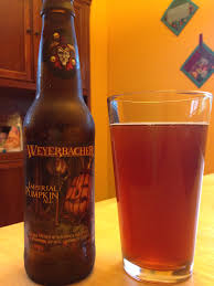 Weyerbacher Imperial Pumpkin Stout by August 2014 Where I Can Write Stuff