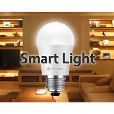 tikteck bluetooth led smart light bulb for phones tablets