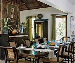 Dining Room British Colonial House Interior Design Home Designs And Decor