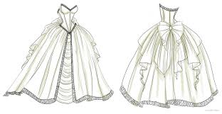 Wedding Dress Drawings Of Dresses Indian Design Sketches Google Search Designs Pinterest