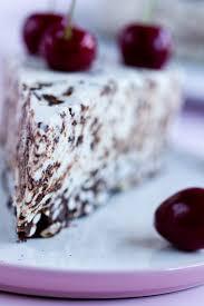 kirsch no bake torte puderzuckerliebe