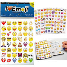 20 Sheets Pack New Emoji Stickers Pack iphone ipad android phone
