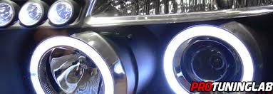 ford escape eye halo led drl projector headlights