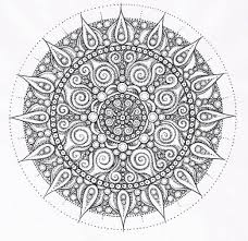 Coloring Print Pictures In Gallery Adult Mandala Pages