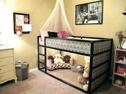 chambre lit mezzanine lit mezzanine pour fille idee deco chambre ado et gris