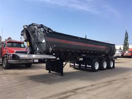 100 End Dump Truck 2018 Renn Tridem Trailer SL3300G2 Edmonton