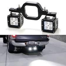 100 Hitches For Trucks 3Hitch Mount Bracket Tow Trailer LED Light Pod Spot Reverse Work