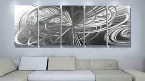 Wall Arts Modern Abstract Metal Art Excellent Contemporary Decor