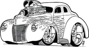 Cars Coloring Book Disney Muscle Car Pages Pdf Games Medium Size